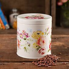 2PCS SET The Pioneer Woman Country Garden CANISTER W/ LID - ROUND-COATED STEEL