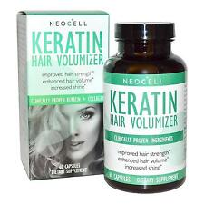 NEW Neocell Keratin Hair Volumizer 60ct Tablets Shine for Dry/Thin KIDZ