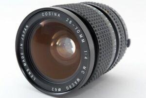 "COSINA 28-70mm F/4 MC MACRO Lens for Olympus ""READ"" From Japan [772]"