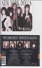 New York Dolls - Manhattan Mayhem ( 2 CD Jungle Rec )