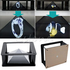For 6''~12'' iPad Tablet Universal 3D Holographic Pyramid Projection Projector