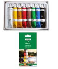 Coloured Oil Paint Set Kit - 8 Colour Tubes - Mixable Artist Craft Painting Art