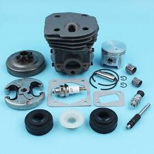 45MM Cylinder Piston Clutch Drum Kit for Jonsered CS2150 CS2152 Chainsaw NIKASIL