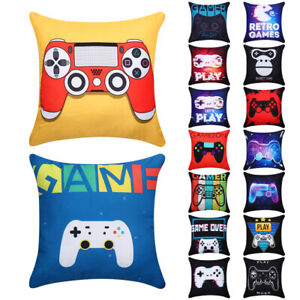 Kids Gift Gamepad Video Game Game Cushion Cover Pillowslip Pillow Case