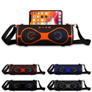 F39 Phone Holder Wireless Bluetooth MP3 Portable Speaker Stereo Bass USB/TF/FM