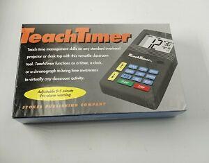 Stokes 229 TeachTimer Overhead Clock Timer Chronograph Classroom or Outdoors