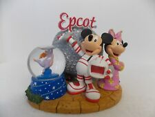 Disney Epcot Mickey, Minnie and Figment Snowglobe