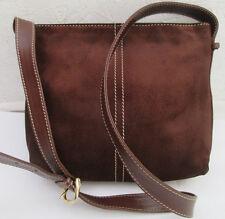 -AUTHENTIQUE sac à main LANCEL daim suédé et cuir TBEG vintage bag
