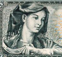 YOUGOSLAVIE billet neuf de 5 DINARA Pick81a  FERMIERE A LA  FAUCILLE 1968