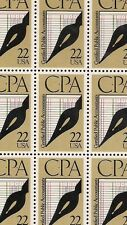 1987 - CPA - #2361 Full Mint -MNH- Sheet of 50 Postage Stamps