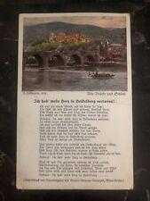 1927 Vienna Austria Postcard Postage Due Cover To Marienbad Czechoslovakia