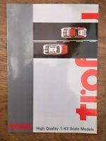 3 x TROFEU A4 colour catalogues Early 1990's, 1999 & 2000  Ford Subaru Porsche