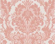 AS Creation Kingston Pink Metallic Glitter Damask Textured Feature Wallpaper