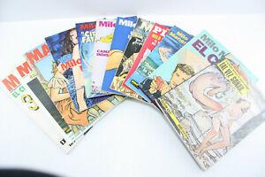 Außergewöhnliche Sammlung MILO MANARA Comic Alben verschiedene Sprachen 12 Stk