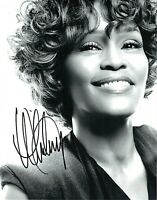 Whitney Houston Autograph Hand Signed Original 8x10 Glossy / UACC RD# Certified