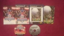 Pdc world championship darts & go go golf bundle SONY PLAYSTATION 2 PS2 pal très bon état