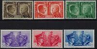 Regno - 1941 - Fratellanza - Serie completa nuova - MNH - Sassone S.96