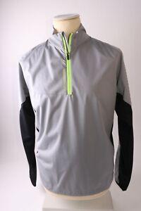 Galvin Green Men's Lincoln Interface-1 1/4 Zip Windproof Jacket  - Grey  - L