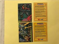 1993 SkyBox Marvel Universe IV Deathlok Promo Card + BONUS SEE DESCRIPTION