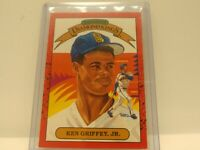 1990 Donruss SUPER Diamond Kings #4 Ken Griffey Jr. HOF Rare!