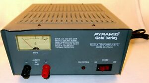 Pyramid Gold PS-21K Regulated Power Supply 12V (13.8VDC) 18 Amp Tested Excellent
