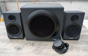 Logitech Z333 2.1 Multimedia Lautsprecher Soundsystem mit Subwoofer