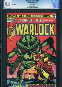 Strange Tales#180 CGC 9.6 UK Price Variant Marvel Comics 1st app of Gamora