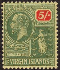 British Virgin Islands Postage Stamps