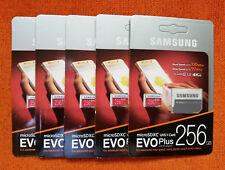 Samsung Evo Plus 256GB MicroSDXC UHS-1 U3 Class 10 Micro SD Memory Card New !!!