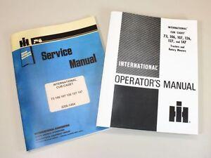 INTERNATIONAL CUB CADET 126 127 147 LAWN TRACTOR OPERATORS SERVICE REPAIR MANUAL