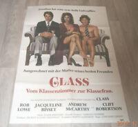 A1 Filmplakat  CLASS ,ROB LOWE,JACQUELINE BISSET,CLIF ROBERTSON