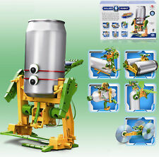 6 in 1 Educational Assembly Solar Power Robot Construction Kit Mechanical Set Ne