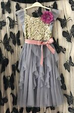 Monsoon girls Party dress age 9