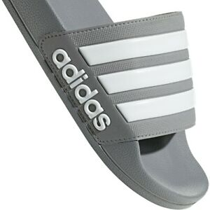 Adidas Adilette Grey Slides Shower Sandal Athletic Swim B42212 Unisex Sizes 9-11