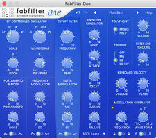 FabFilter One Synthesizer Complete License Fast Delivery