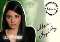 Roswell Season One Shiri Appleby as Liz Parker Autograph Card A2