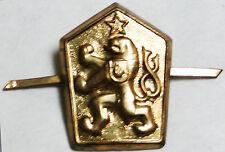 Czecholovakia - Cap Badges - Other Ranks -  unused  -  B5510