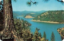 Postcard Beauty Bay Lake Coeur d'Alene Idaho