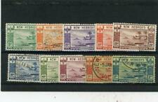 New Hebrides (Br) 1938 Scott# 50//59 mint/canceled