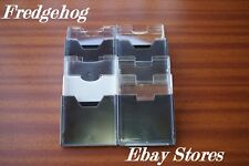 A PACK OF 10 x EMPTY MINIDISC / MINI DISK INDIVIDUAL STORAGE CASES / BOXES