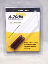 12225 2-Pack PACHMAYR A-Zoom .30 Carbine Snap Caps Dry Fire Dummy Training Ammo