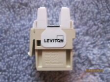 LEVITON  Cat 6+ Extreme Quick Port Connector T568A/B wiring ivory Lot of 4 parts