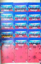 HE-MAN MOTU Card Back And Bubble Set, !! PLEASE READ DESCRIPTION !!