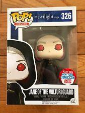 Funko Pop Movies Twilight Jane Of The Volturi Guard NYCC 2016 Exclusive