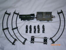 Vintage Tin-Plate 60985 Hornby Series O Gauge clockwork loco LMS Wagon Meccano