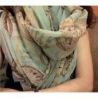 Women Long Soft Chiffon Scarf Wrap Shawl Stole Scarves Hot Color Random