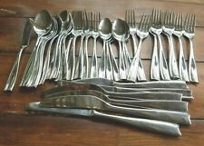 Vintage Dansk Lyric Lyra Flatware Service For 6