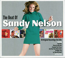 THE BEAT OF SANDY NELSON - 2 CD BOX SET - LET THERE BE DRUMS & MORE