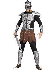 Adult Spartan Greek Roman Gladiator Warrior Halloween Costume Kit