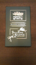 Perfect State and Shadows for Silence with Slip Case Sanderson Sub Press Ltd Ed